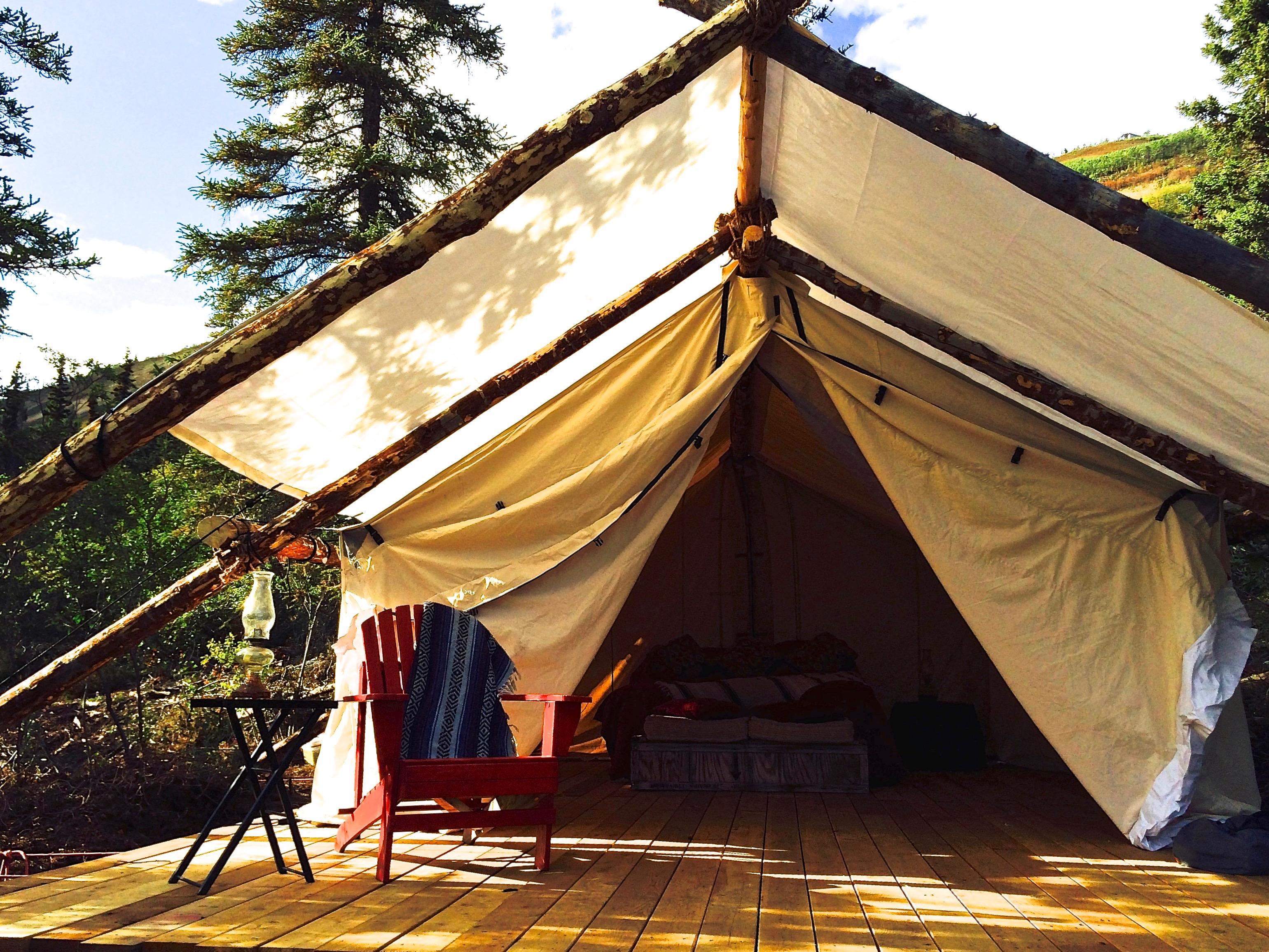 Alaska Luxury Camping
